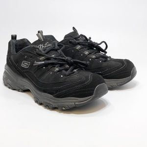Women's Skechers D'Lites Black, size 8